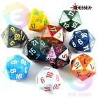 dadi d20 MACULATI Chessex COLORE CASUALE Speckled D&D Pathfinder RPG dado venti