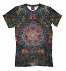 psychedelic NEW t-shirt electric flower All Over print lsd colorful cool designe