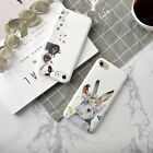 Lovely Animal Candy White Soft Tpu Silicone Case For iphone 6/6S plus /7 7PLUS