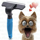 Deshedding Brush Grooming Comb Tool Safety Stainless Steel Blade for Pet Dog Cat