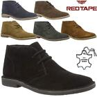 Mens Desert Boots RedTape Gobi Suede Leather Casual Walking Chukka Ankle Boots