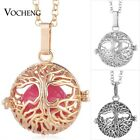 10pcs Vocheng Bola Ball Tree of Life Necklace Stainless Steel Chain VA-252*10
