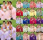 STOCK Long Formal Bridesmaid Dresses Party Prom Ball Wedding Gowns Evening 6-20