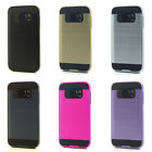Lot/6 Brushed Finish Hybrid Case for Samsung Galaxy S7 Wholesale