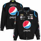 Authentic Jeff Gordon Pepsi Cotton Jacket JH Design Black New free shipping