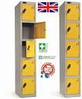 NEW Five Door / 5 Door Compartment Person Storage Locker Lockers - British Made