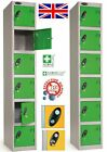 NEW Six Door / 6 Door Compartment Person Storage Locker Lockers - British Made
