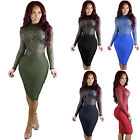 New Women Bandage Dress Mini Short Party Cocktail Evening Dress Bodycon Clubwear