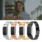 SHIMMER Stainless Steel Wristband Band Accessories Bracelet For FITBIT CHARGE 2