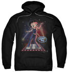 Hoodie: Betty Boop - Pop Star Apparel Pullover Hoodie - Black $42.99 USD