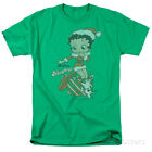Betty Boop- Define Naughty Apparel T-Shirt - Kelly Green $19.99 USD