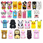 3D Cartoon Soft Silicone Rubber Gel Case Cover Skin For iPhone iPod Touch 4/5/6