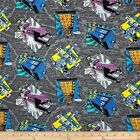 LICENSED DR WHO MADMAN TARDIS  SEWING CRAFT QUILT FABRIC Free Oz Post