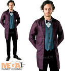 Dr Who 11th Doctor Mens Fancy Dress Matt Smith Sci-fi Adults Costume Outfit New