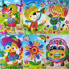Внешний вид - NEW 3D Crystal Mosaics Puzzle Paste Painting Sticker DIY Kid Handmade Craft Toy
