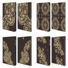 HEAD CASE DESIGNS HENNA LEATHER BOOK WALLET CASE FOR SAMSUNG GALAXY TAB S2 9.7