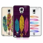 HEAD CASE DESIGNS AZTEC FEATHERS SOFT GEL CASE FOR SAMSUNG GALAXY NOTE 4