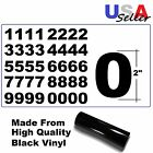 "Set Of 4 Vinyl MailBox, toolbox, lockers 2"" Decals Stickers - 40 numbers sheet"