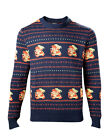ZELDA HOLIDAY PULLOVER/SWEATER BLAU S,M,L,XL,XXL NEU