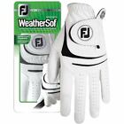 FootJoy Genuine Leather WeatherSof Left Hand Men's Golf Glove 6 colors To Pick