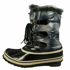 Sporto Womens Snow Boots Duck Boots Navy Gray Pack Boots Style Winnie Water Prf
