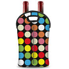 Two-Bottle Wine Bottle Bags Carrier Outdoor Camping Picnic Wine Covers Carry Bag