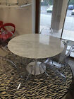 TAVOLO TULIP EERO SAARINEN TABLE TISCH  MARMO CARRARA