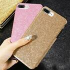 Bling Glitter Sparkle PU Leather TPU Shockproof Case Cover For iPhone 6s 7 Plus