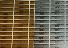 500 or1000 Small Personalised Return Address / Security Labels Silver or Gold