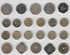 Jersey Guernsey coins £2 £1 50p & 20p multi-listing