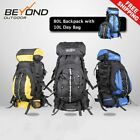 80L Backpack with day bag Camping Hiking Travel RUCKSACK RAIN COVER *NEW ARRIVAL