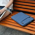 14'' Canvas Laptop Sleeve Case Bag Notebook Pouch For Asus HP Lenovo Macbook Pro