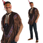 Native American Costume – Adults Fancy Dress Tribal Ponch Indians Rubies 880575