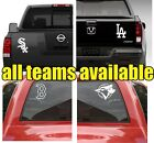 Baseball Teams Decal Car Truck Van Window Sticker mlb Vinyl White on Ebay