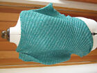 RINGSPUN STINGRAY GREEN SILVER KNITTED TOP 8 10 12 NEW