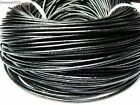 Genuine Leather Cord Thread For Diy Bracelet Necklace Jewelry Making 10M 100M