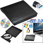 USB 3.0 External CD/DVD RW Burner Writer Hard Drive for Win 10 7 PC Laptop Mac