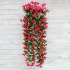 1 Bunch Silk Hanging Plants Artificial Lily Flower Garland Party Garden Decor US