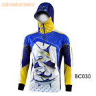 Fishing Sun Shirt with Hood for Men Long Sleeve Lightweight Breathable UPF50+