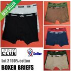 LOT 2 PRO CLUB BOXERS BRIEFS PROCLUB MEN'S UNDERWEAR COTTON BIG AND TALL S-7XL