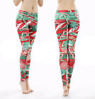 Women's Sports Leggings 3D Candy Print Joggings Fitness Yoga Tight Pants Clothes