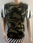 Men's Hip Hop Style Long T-Shirt with Side Zipper S to 4XL