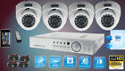 4 HD-TVI FULL 1080P CCTV CAMERA 25M NightVision HIGH DEFINITION SYSTEM HDMI KIT