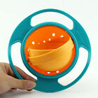 Baby Kid Non Spill Feeding Toddler Gyro Bowl Avoid Food Spilling 360 Rotating