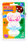 Nuby Natural Touch Gum-eez First Teether Step 1 Front Teeth Pacifier 2-Pack NEW