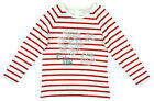 Girls Let it Snow Snowflake Stripe Sweater Top 1 to 7 Years CLEARANCE SALE