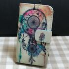 Dandelion Butterfly Dream Catcher Wallet Kickstand flip case cover for HTC Phone