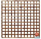 "Square Garden Trellis 6ft Wide Pressure Treated 4"" Hole Timber Garden All Sizes"