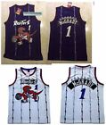 Tracy McGrady 1 Toronto Raptors Jersey Basketball Throwback Retro Swingman Men