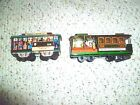 2 Tin San Francisco Cable cars trolleys 1950 Japan 514 & 504  friction Souvenirs